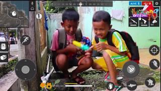Free Fire in real life Action Kids ||FILM BOCAH NGAPAK , PURBALINGGA ||Kandang TV