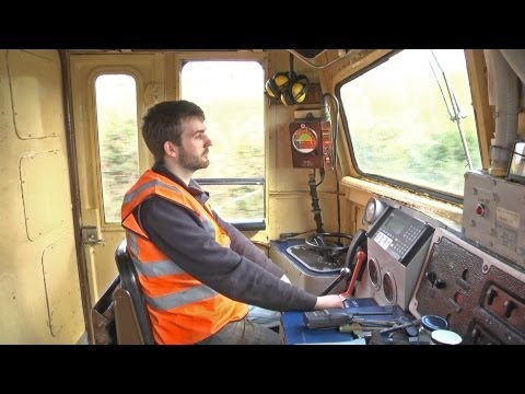 Thumbnail: Cab Ride - Inch Abbey to Downpatrick - A39 Diesel Locomotive