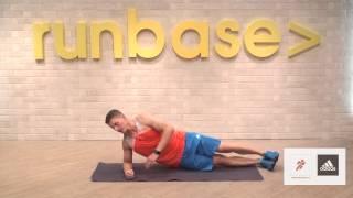 Видеоуроки для бегунов: упражнение «планка»
