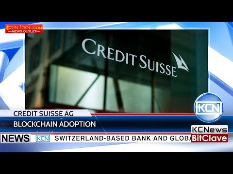 Credit Suisse AG plans to use blockchain for credit processes