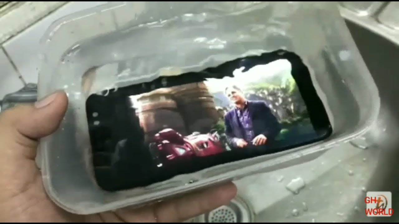 newest collection 7bb14 7c0a4 Samsung Galaxy A8 plus review and waterproof test in hindi