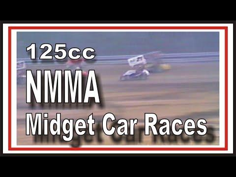 SIR Raceway 125cc Midget Racing Cars on the Track
