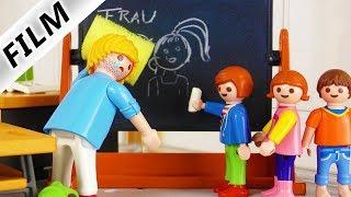 Playmobil Film deutsch   JULIAN VOGEL MOBBT SCHULLEITER   Böse Zeichnung an der Tafel   Kinderserie