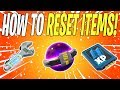 HOW TO RESET HEROES AND SCHEMATICS FIRST LOOK! | Fortnite Save The World (Fortnite School)