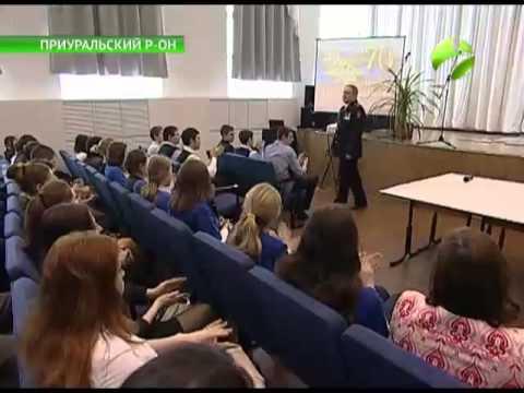 Копия легендарного знамени Победы появилась в школе поселка Харп