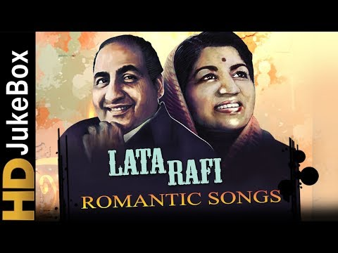 Mohammed Rafi & Lata Mangeshkar Top 15 Romantic Songs  Old Hindi Love Songs Jukebox