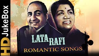 Mohammed Rafi & Lata Mangeshkar Top 15 Romantic Songs , Old Hindi Love Songs Jukebox
