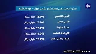 30.194 مليار دينار إجمالي الدين العام حتى نهاية تشرين الأول (26-12-2019)