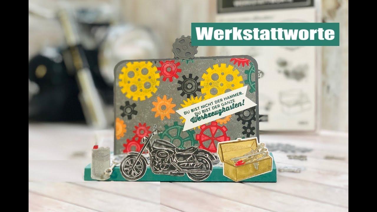 Geburtstagskarten Selber Machen Fur Manner.Geburtstagskarte Fur Manner Basteln Mit Stampin Up Produktpaket