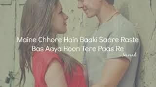 Gambar cover Meny Chhore Hain Baaki Sary Rasty Bas Aya Hon Tery Wasty  song