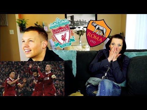 Mohamed Salah! Liverpool vs. Roma | Reaction!