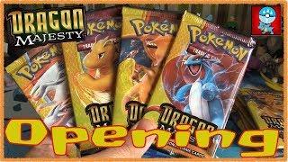 Pokemon TCG: Sun & Moon: Dragon Majesty Opening 10 Packs!