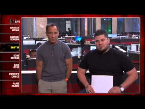 Shift It Interview With TMZ
