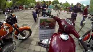 Выставка Ретро мотоциклов в Краснодаре 9 Мая