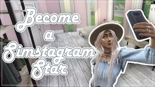 Become A SIMSTAGRAM Star - Road To Fame Mod - The Sims 4