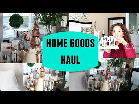 Home Goods Haulcompras De DecoraciÓn  Youtube