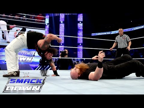 Bray Wyatt vs Erick Rowan: SmackDown, April 9, 2015