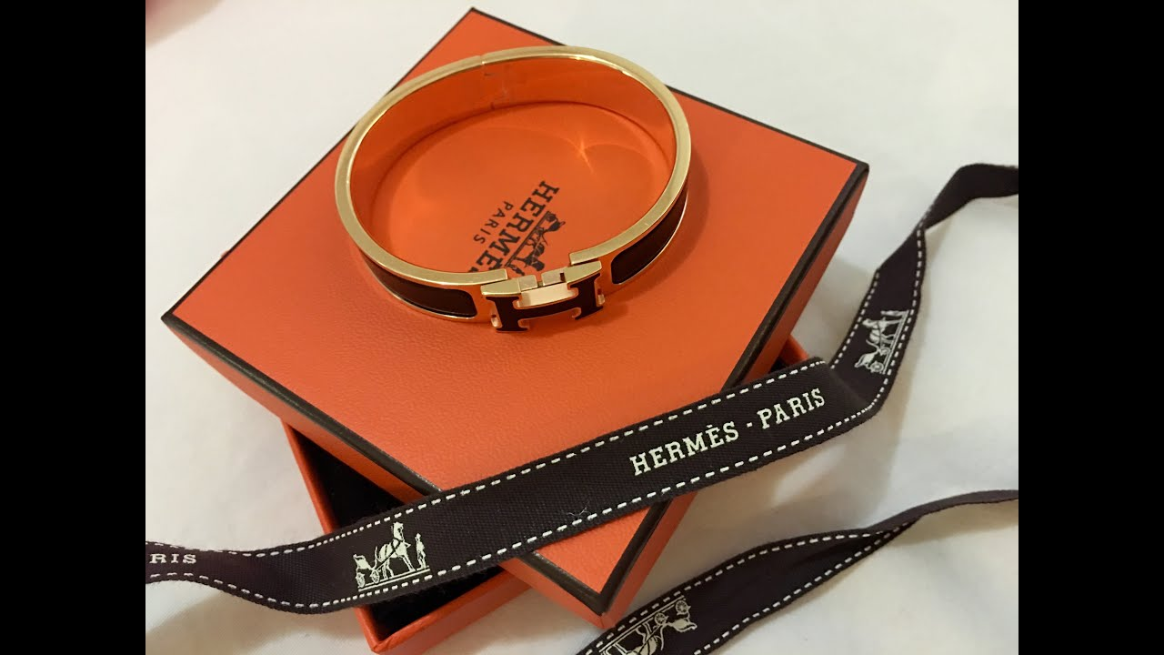 Hermes Clic Clac H Bracelet Wear And Tear Review Or