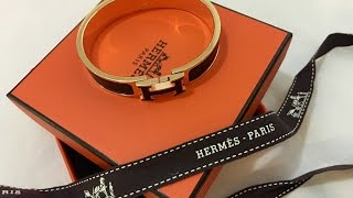 """Hermes Clic Clac H Bracelet wear and tear REVIEW or Clic """"H"""" review"""