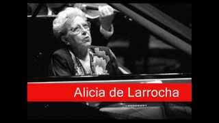 Alicia de Larrocha: Bach - Italian Concerto in F Major, BWV 971