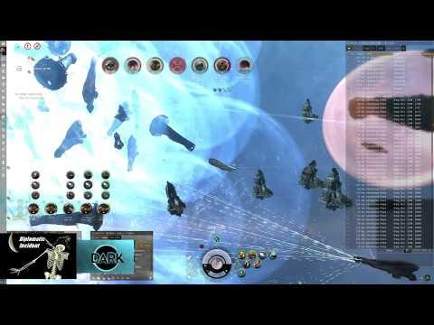 Massive  EVE Online Battle: 5 GOTG Titans &  120 GSF Dreads  Killed in ROIRY.