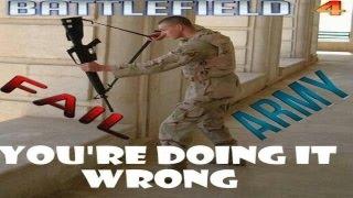 °»Battlefield 4 Fail Army«°  [Funny Moment:  ,Einparkskills defekter Fahrstuhl, auf 3]
