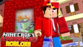 Minecraft Adventure - ROPO FINDS A PORTAL TO THE ROBLOX WORLD!!!