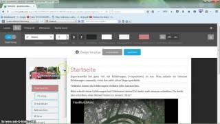 Jimdo-Layouts und gutes Webdesign ...