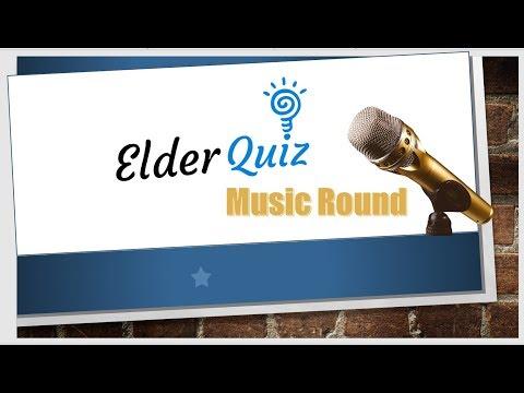 ElderQuiz Music Round - Name That Tune Quiz For Seniors