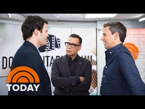 Seth Meyers, Fred Armisen, Bill Hader Talk 'Documentary Now!' Comedy Series | TODAY