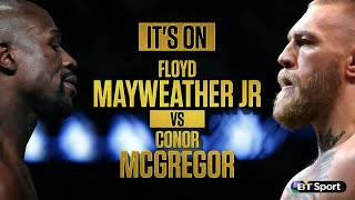 Floyd Mayweather vs. Conor McGregor is on! But is it good for boxing?