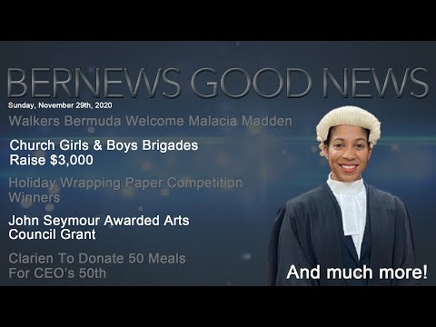 "Bernews ""Good News"" Sunday Spotlight, November 29, 2020"