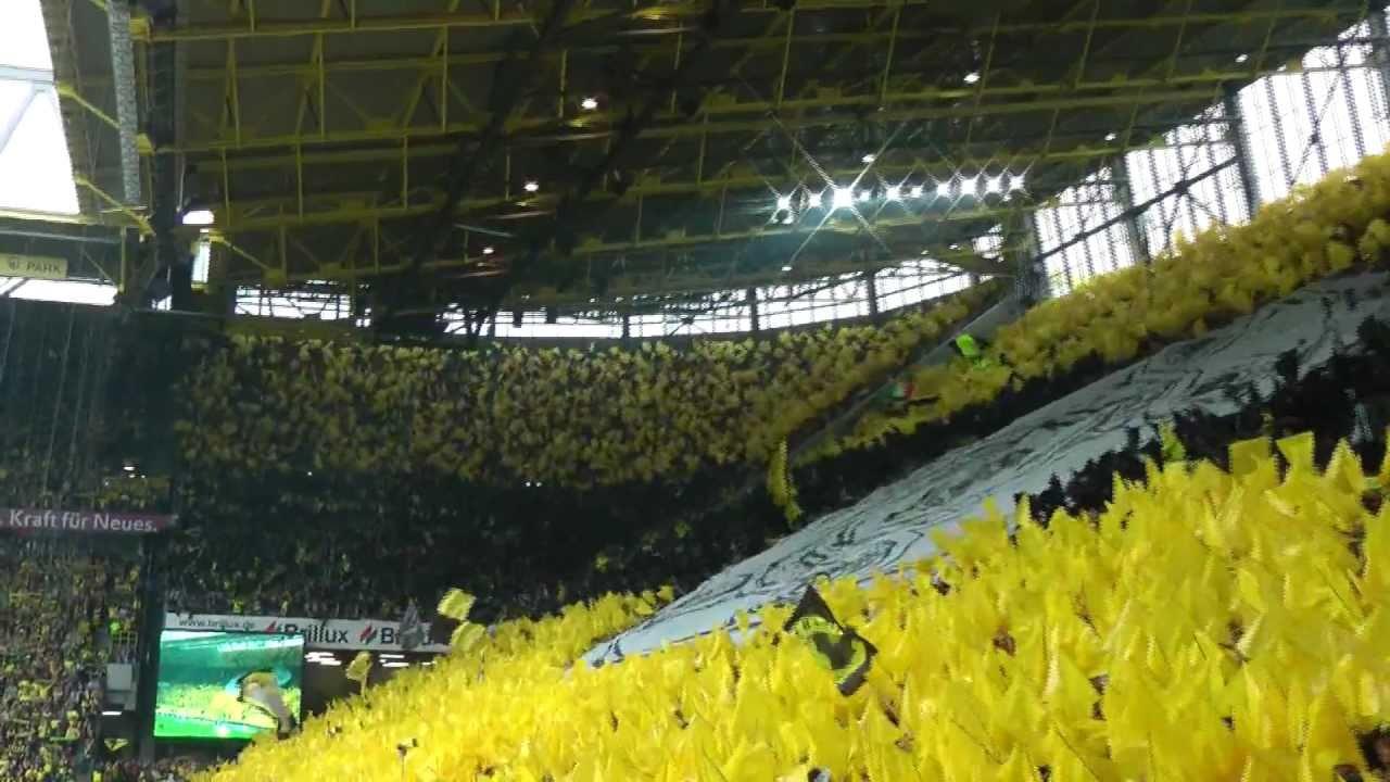 """Choreo zu You""""ll never walk alone - Borussia Dortmund - Deutscher Meister 2011"""