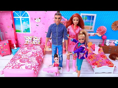 Barbie Doll Morning Family Routine for School  Best Videos Compilations
