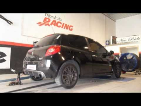 renault clio 3 rs akrapovic dijon auto racing youtube. Black Bedroom Furniture Sets. Home Design Ideas