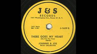 Johnnie and Joe - There Goes My Heart - Great Bronx R&B / Doo Wop