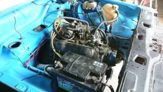 Démarrage moteur V6  ma voiture