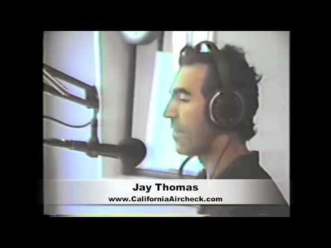 JAY THOMAS POWER 106 KPWR RADIO LOS ANGELES - VIDEO AIRCHECK