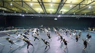 In Rehearsal: Swan Lake in-the-round