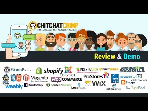 ChitChatChimp Review Demo - Intelligent Chat Bots for Your Site and Store