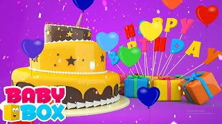 Selamat ulang tahun | Lagu anak anak | Bayi sajak | Baby Box Indonesia | Video edukasi