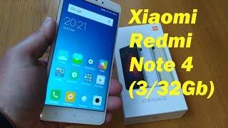 Обзор Xiaomi Redmi Note 4 (3/32Gb Global) Всё ещё актуален.