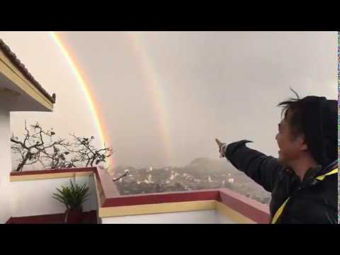 Jet Li 李連杰: I Saw An Amazing Double Rainbow In Nepal