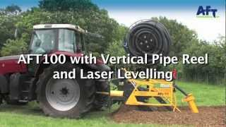 Drainage installation and pipe laying http://www.trenchers.co.uk(Efficient drainage is one of the most cost effective ways of improving crop yields and to keep your land accessible for machines. The AFT 100 enables you to dig ..., 2012-07-30T15:28:54.000Z)