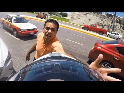 STUPID, CRAZY & ANGRY PEOPLE vs BIKERS | MOTORCYCLE ROAD RAGE |  [Ep. #102]