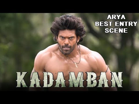 Arya's Dynamic Entry Scene in Kadamban | 2018 Latest Hindi Dubbed Action Scenes