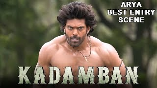 Video Arya's Dynamic Entry Scene in Kadamban | 2018 Latest Hindi Dubbed Action Scenes download MP3, 3GP, MP4, WEBM, AVI, FLV Agustus 2019
