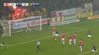 AIK - Kalmar, Robin Janssons avgörande mål