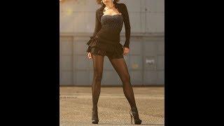 黒タイツを纏ったグラマラス系、ぽっちゃり系女子のスライドショーです...