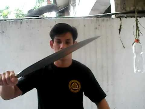 Visayan Barong test cutting
